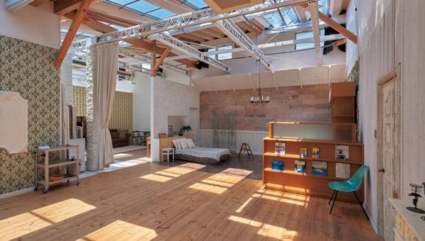 ハウススタジオ 多彩なシチュエーションが撮れる自然光スタジオ