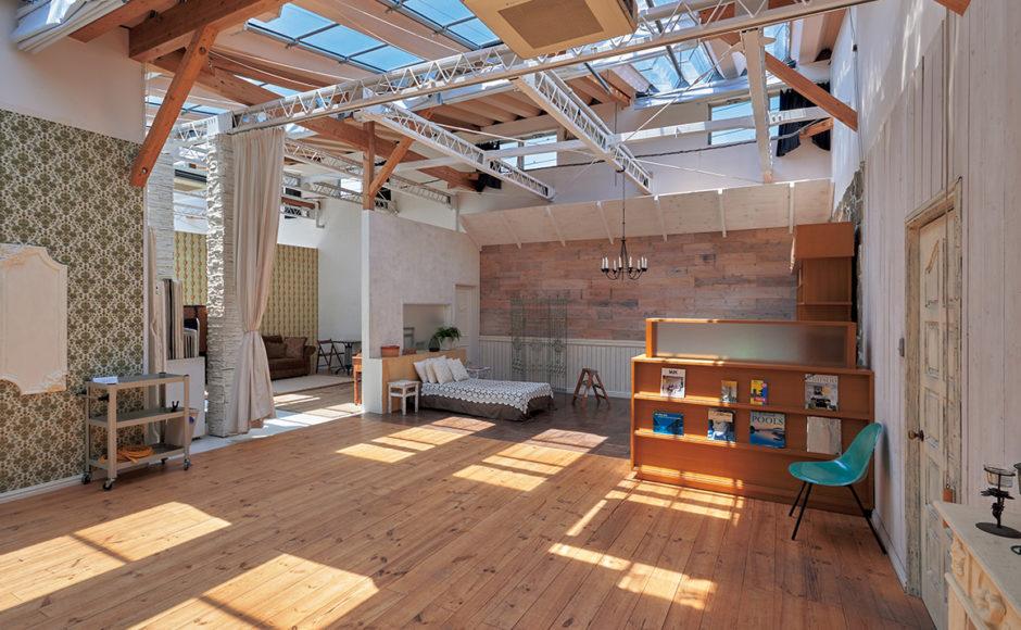 ハウススタジオ|多彩なシチュエーションが撮れる自然光スタジオ