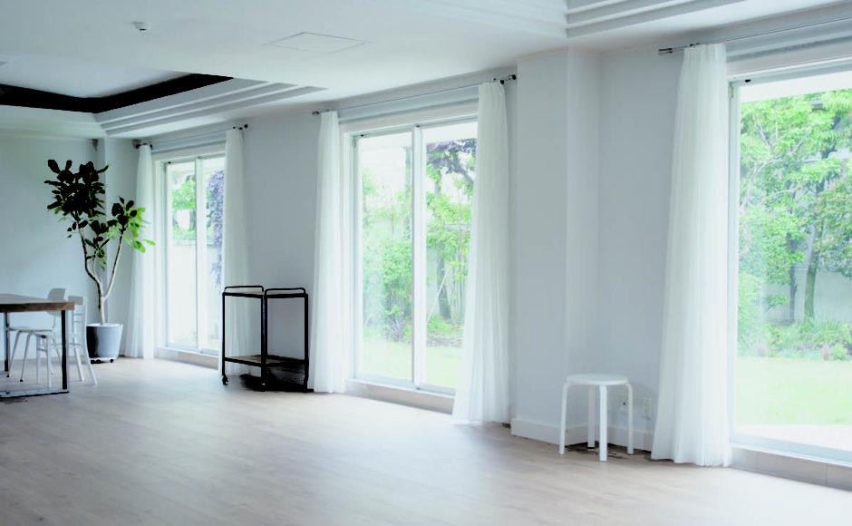 スタジオに面した100坪の庭を全面リニューアル<br>SHILO STUDIO