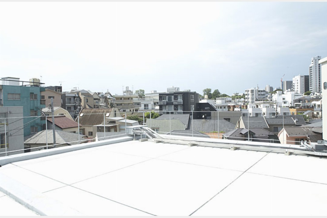 スタジオオートグラフ 神泉 屋上