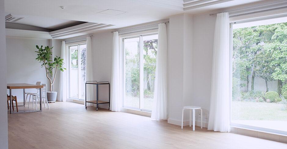 ムービー撮影でも人気を集める白色を基調とした元邸宅<br>SHILO STUDIO